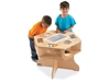 Montessori Materials- See-n-Wheel Shelf