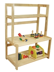 Three Tier Wooden Shelf
