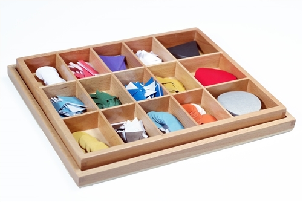 Montessori Materials Paper Grammar Symbols In A Box With