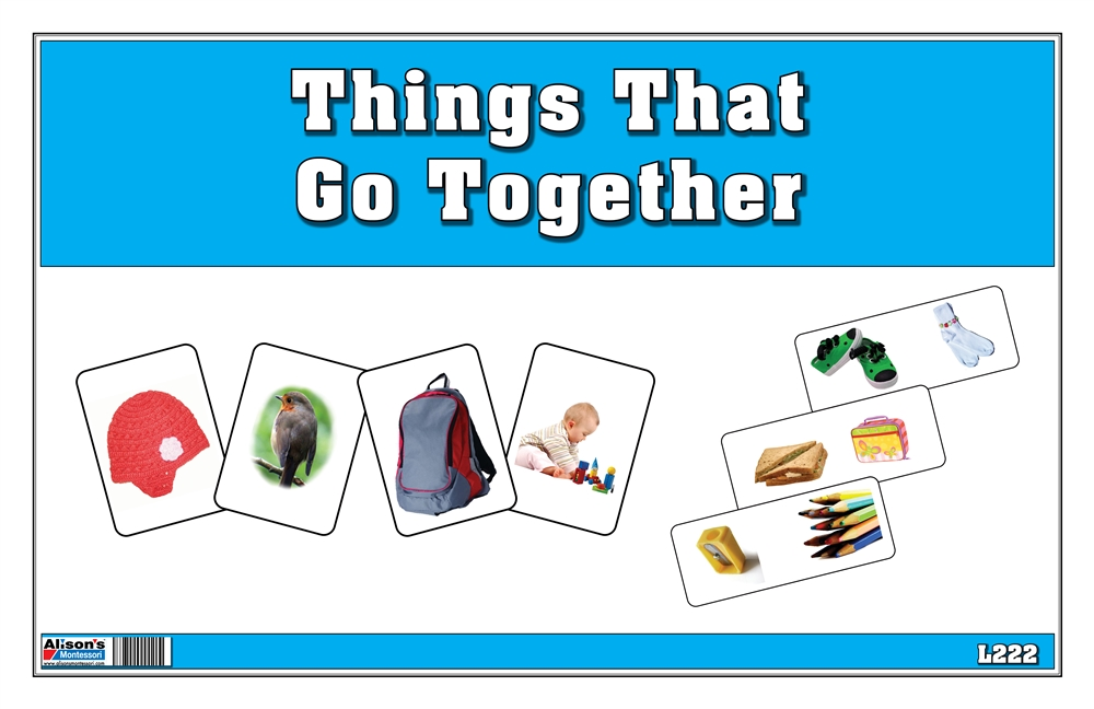 Free Worksheets observation skills worksheets : Montessori Materials: Things That Go Together
