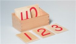 Number Cards for the Number Rods