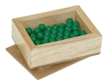 Green Beads for Division Board Activity
