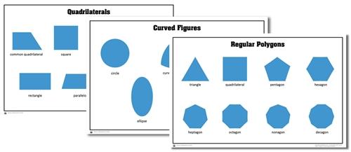 Montessori Materials: Level 1 Geometry Activity Cards