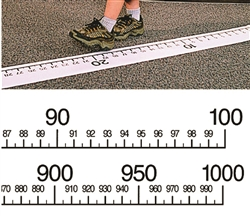 Giant Walk-On Number Line