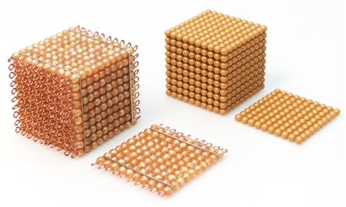 Montessori bead material for bead cabinet for Waste material images