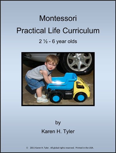 Montessori Album Practical Life