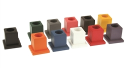 Montessori Materials: 11 Colored Pencil Holders (Premium Quality)