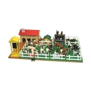 Montessori Materials Montessori Farm Set With Farm Animals