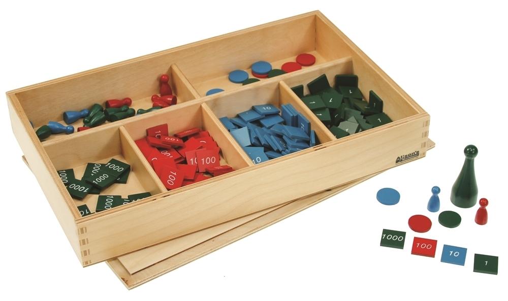 Montessori Materials Stamp Game Premium Quality