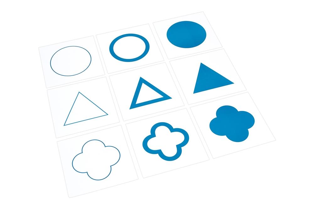 Materials: Cards for Geometric Cabinet (Premium Quality)
