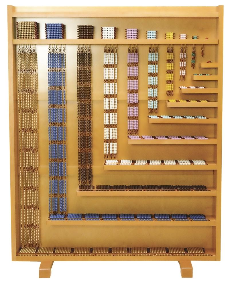 Montessori Materials Bead Cabinet Premium Quality