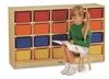Montessori Materials - 20-Tray Mobile Cubbie