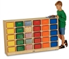 Montessori Materials - 30 Tray Mobile Cubbies without Trays