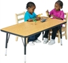 "Montessori Materials- Activity Table Rectangle 30"" x 48"""