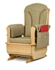 Montessori Materials - Glider Rocker w/Khaki Green Cushions