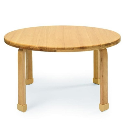 Natural wood round table for Natural wood round table