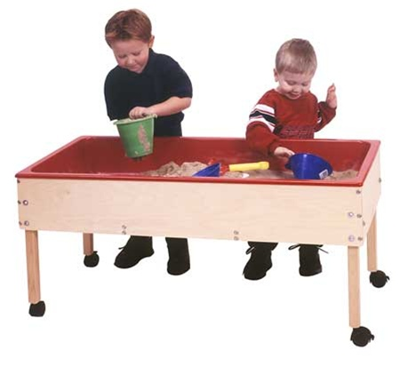 Toddler Sand and Water Table With Top