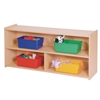 "22"" High Two Shelf Storage"