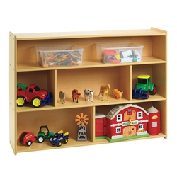 Value Line School Age Divided Shelf Storage