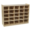 Montessori Materials- 25 Tray Mobile Cubbie