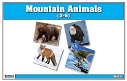 Mountain Animals Nomenclature Cards (Printed)