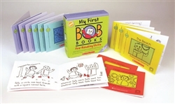 Montessori materials: MY FIRST BOB BOOKS • PRE-READING SKILLS
