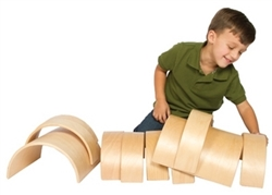 Montessori Materials: Arch and Tunnel Set