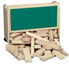 Montessori Materials: Block Cart
