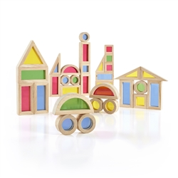 Montessori Materials - Jr. Rainbow Block 40 Piece Set