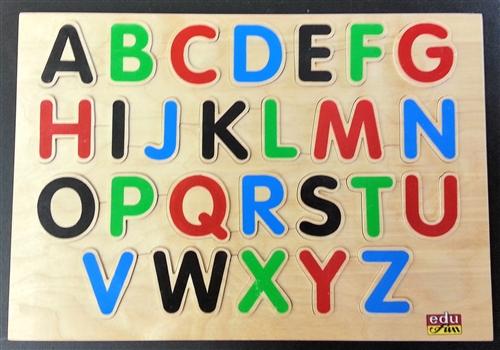 Montessori materials alphabet board english capital letters alphabet board english capital letters altavistaventures Images