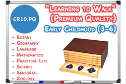 "Montessori Materials C""Learning to Walk"" Package (Premium Quality)"