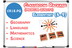 Lower Elementary Classroom Materials (6-9) - Premium Quality