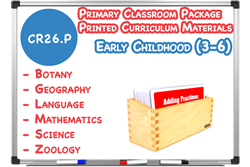 Primary Classroom (3-6) - Printed Curriculum Material Package