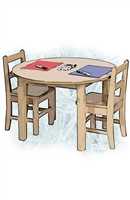 Montessori Classroom Furniture Package for 6-9