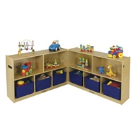 5 Compartment Fold and Lock Cabinet