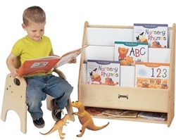 Toddler Pick - a - Book Stand - 1 Sided