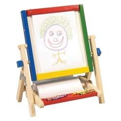 Montessori Materials - 4 in 1 Flipping Tabletop Easel