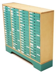 Montessori Materials - Cabinet for Green Language Series