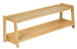Infant Toddler Two Tier Open Shelf