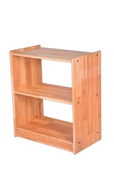 "Solid Rubberwood Shelf without Back (24"" x 14"" x 30"" )"