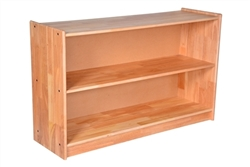 "Solid Rubberwood Shelf (48"" x 14"" x 29"")"