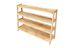 Four Tier Wooden Shelf