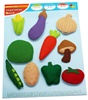 Vegetable Felt Pieces