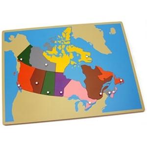Montessori materials puzzle map of canada montessori puzzle map of canada gumiabroncs Choice Image