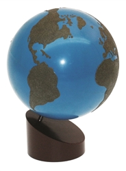 Sandpaper Globe of Land and Water