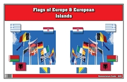 Flags of Europe and European Islands