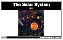 The Solar System Nomenclature Cards (3-6)