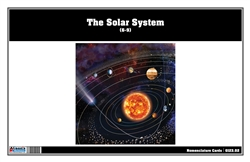 The Solar System Nomenclature Cards (6-9)