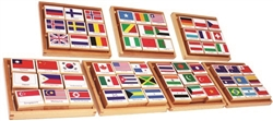 Flag Stamps of the World