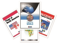 Flags of the World Nomenclature Cards (Printed)